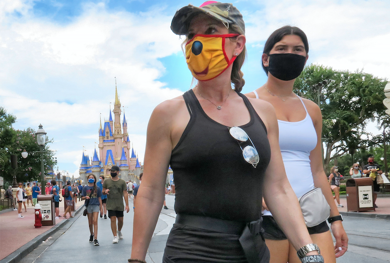 Disney updates face mask policy